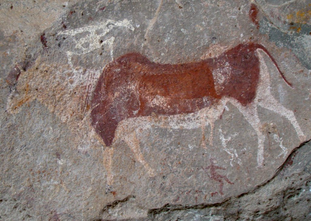 Prehistoric rock art in South Africa