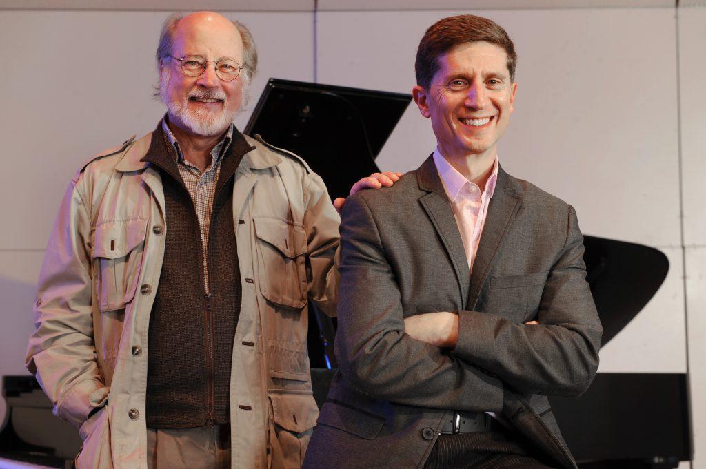 Bland Simpson and Mark Katz
