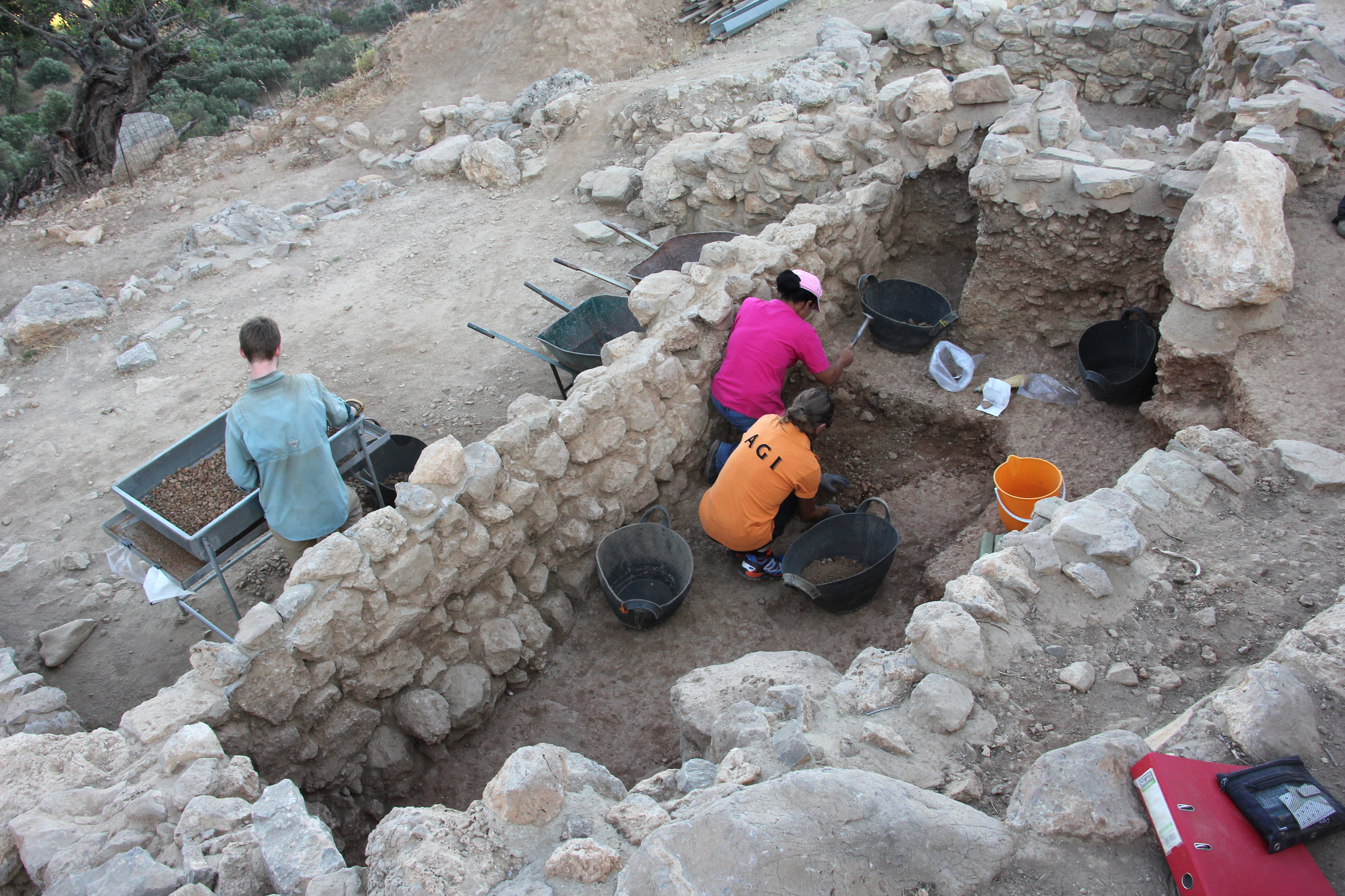 Professor Donald Haggis leads ongoing archaeological excavations at Azoria, an early Greek city located on the island of Crete.