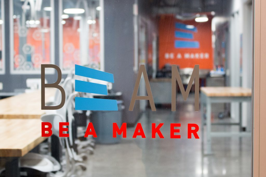 Steve Kapp's gift to the Dean's Innovation Fund will help support initiatives like BeAM. This makerspace in Murray Hall is the largest of three in the BeAM network. (photo by Kristen Chavez)