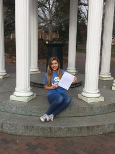 College campaign priorities include support for first generation students like Lookout Scholar Samantha Grounds.