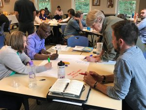 The Southern Oral History Program, in collaboration with Carolina Public Humanities' Carolina K-12 program, hosted the Carolina Oral History Teaching Fellows in Civil Rights workshop at UNC in June.