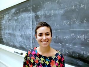 """Yaiza Canzani's Sloan Fellowship, awarded to """"the next generation of scientific leaders,"""" is the first Sloan for the mathematics department in about 10 years. (photo courtesy of Yaiza Canzani)"""