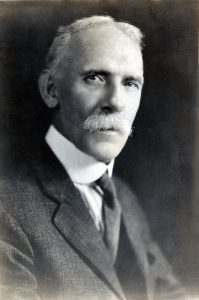 "Francis P. Venable, dubbed the ""founding father of Carolina chemists,"" also served as the University's president. (photo courtesy of N.C. Collection, University Libraries)"