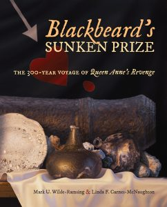"Book cover for ""Blackbeard's Sunken Prize: The 300-Year Voyage of Queen Anne's Revenge"""