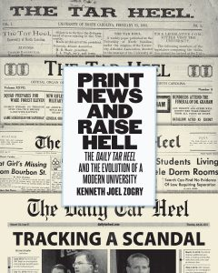 """Book cover for """"Print News and Raise Hell"""""""