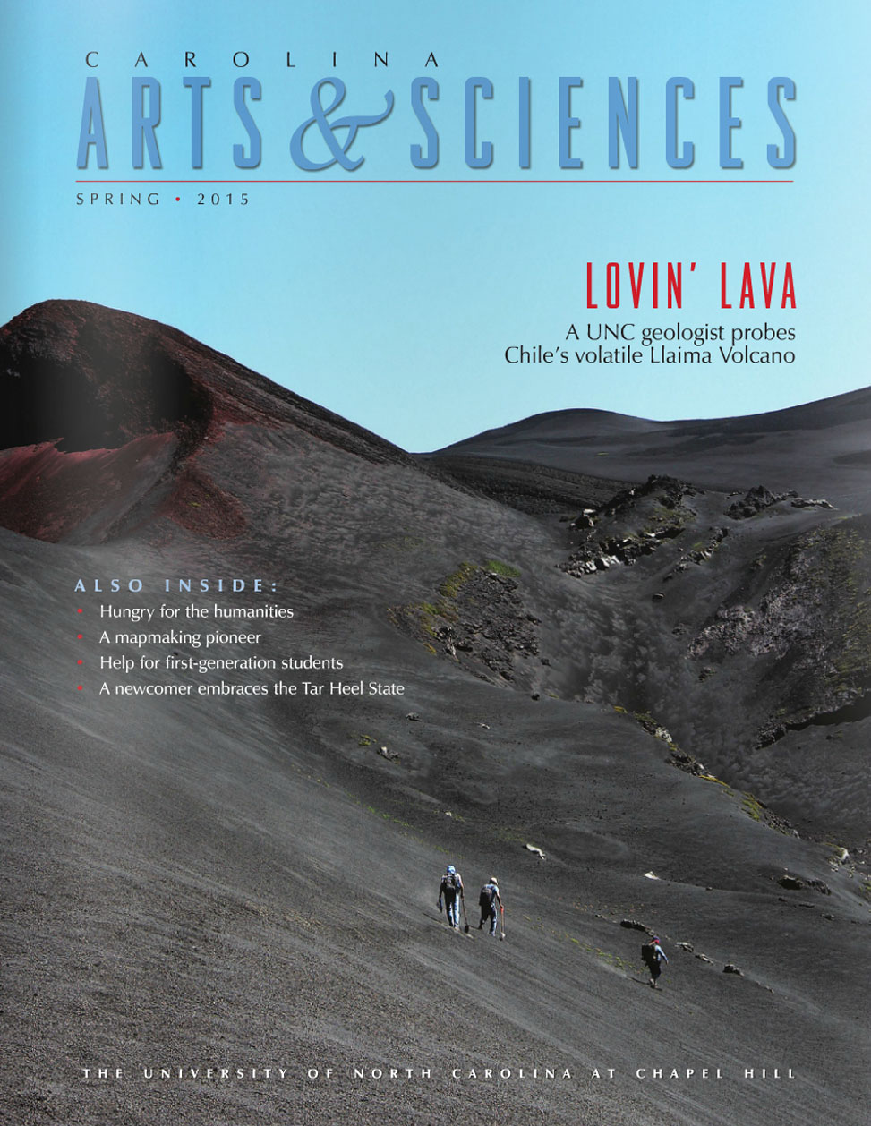 Spring 2015 Magazine Cover