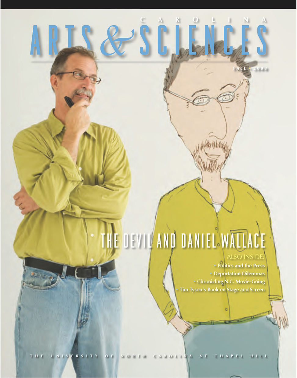 Fall 2008 Magazine Cover