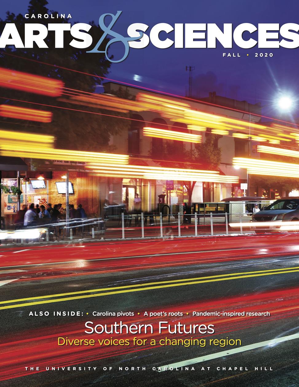 Carolina Arts & Sciences magazine fall 2020 cover